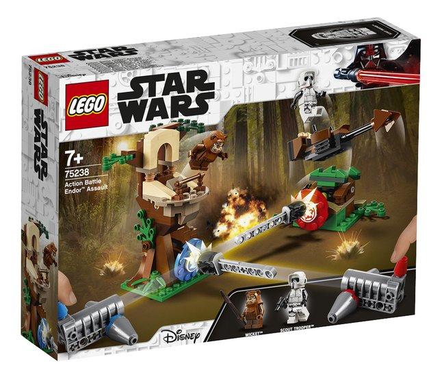 Afbeelding van LEGO Star Wars 75238 Action Battle aanval op Endor from ColliShop
