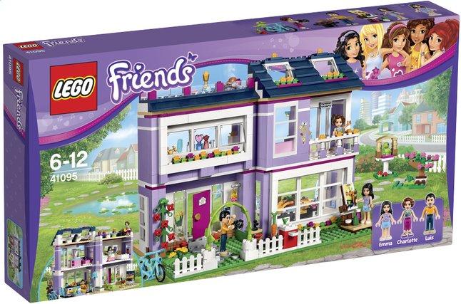 Image pour LEGO Friends 41095 La maison d'Emma à partir de ColliShop