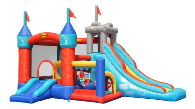 Happy Hop springkasteel met glijbaan 13 in 1 Bouncy Castle
