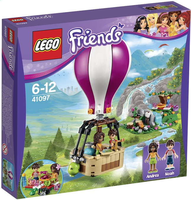 Afbeelding van LEGO Friends 41097 Heartlake City luchtballon from ColliShop