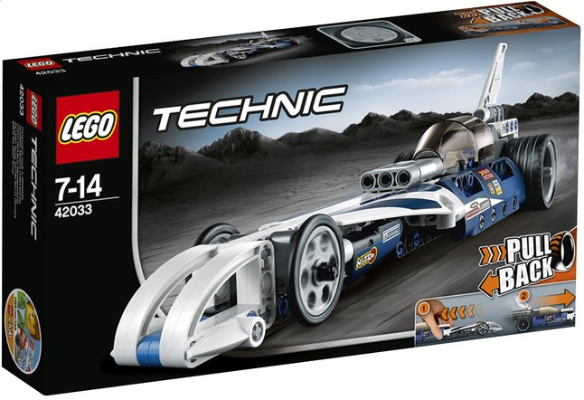 Afbeelding van LEGO Technic 42033 De recordbreker from ColliShop
