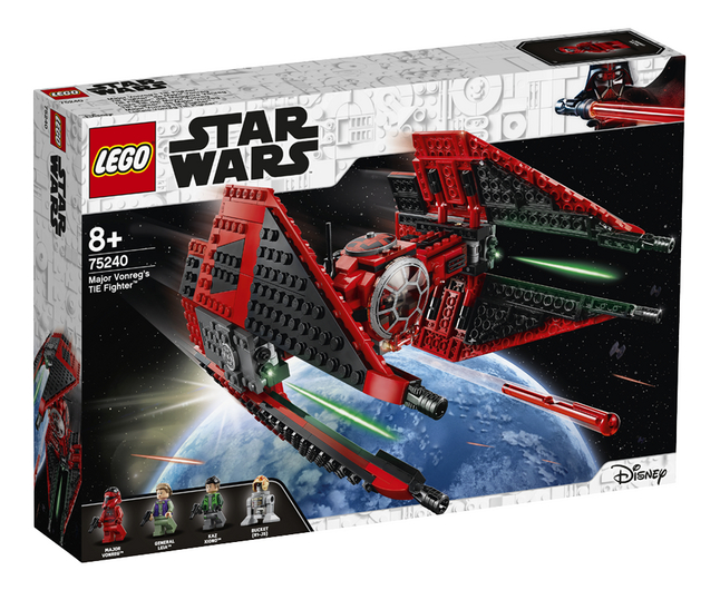 Image pour LEGO Star Wars 75240 TIE Fighter de Major Vonreg à partir de ColliShop