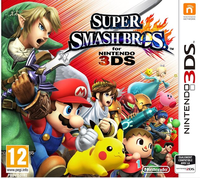 Afbeelding van Nintendo 3DS Super Smash Bros. NL from ColliShop