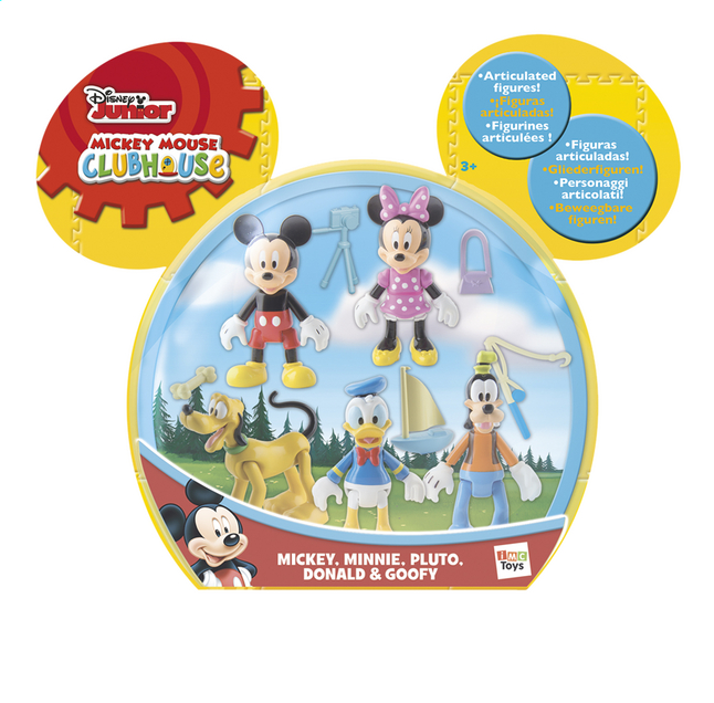 Afbeelding van Figuur Mickey Mouse Clubhouse 5 pack from ColliShop