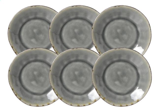 Image pour Cosy & Trendy 6 sous-tasses pour tasses à café Laguna blue grey Ø 15 cm à partir de ColliShop