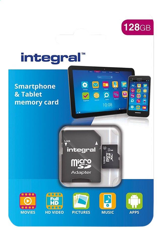 Image pour Integral carte mémoire microSDXC + adaptateur SD 128 Go à partir de ColliShop