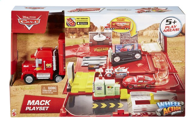 Afbeelding van Speelset Disney Cars Mack from ColliShop