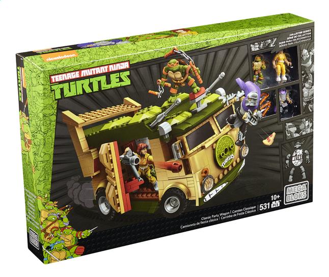 Image pour Mega Bloks Les Tortues Ninja Le camion classique à partir de ColliShop
