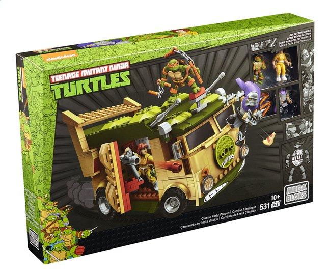 Afbeelding van Mega Bloks Teenage Mutant Ninja Turtles Classic Party Wagon from ColliShop