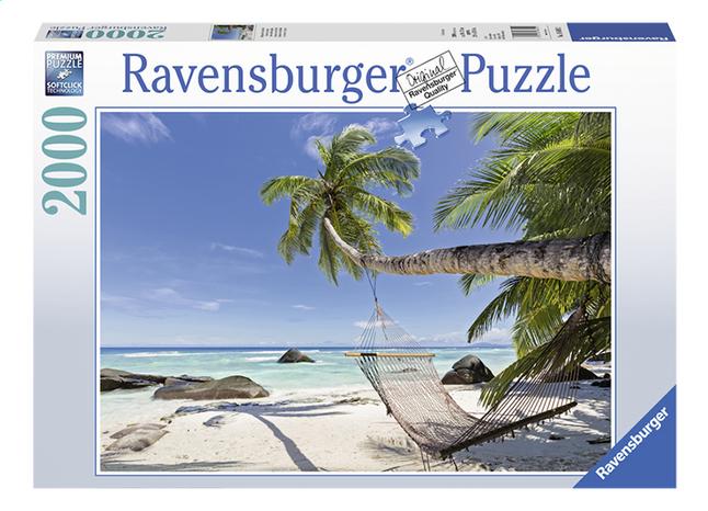 Afbeelding van Ravensburger puzzel Hangmat op het strand from ColliShop