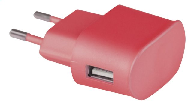 Afbeelding van Nintendo 3DS USB-adapter rood from ColliShop