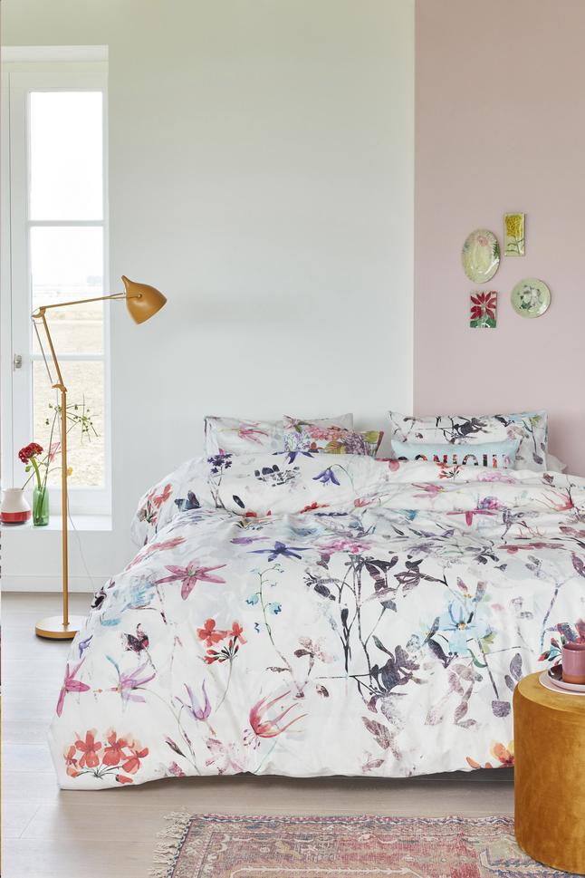Image pour Beddinghouse Housse de couette Sweet flowers coton Lg 200 x L 220 cm à partir de ColliShop
