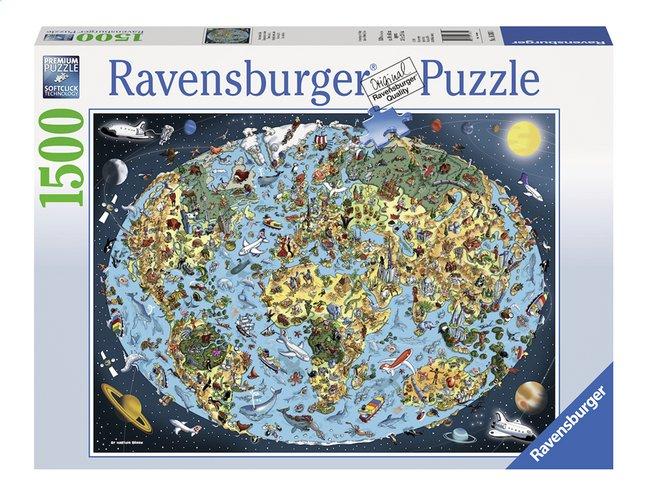 Afbeelding van Ravensburger puzzel Bontgekleurde aarde from ColliShop