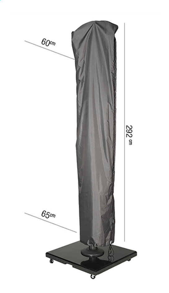 Afbeelding van AeroCover beschermhoes voor hangparasol polyester 292 x 60 cm from ColliShop