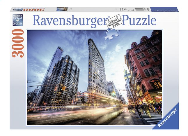 Afbeelding van Ravensburger puzzel Flatiron Building from ColliShop