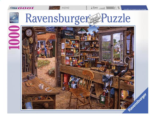 Afbeelding van Ravensburger puzzel Opa's schuurtje from ColliShop