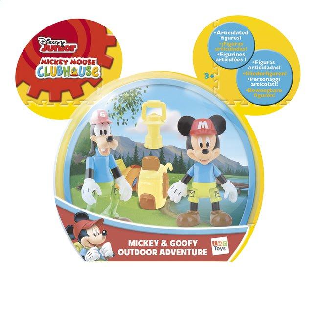 Image pour Figurine La Maison de Mickey Mickey & Goofy Outdoor Adventure à partir de ColliShop