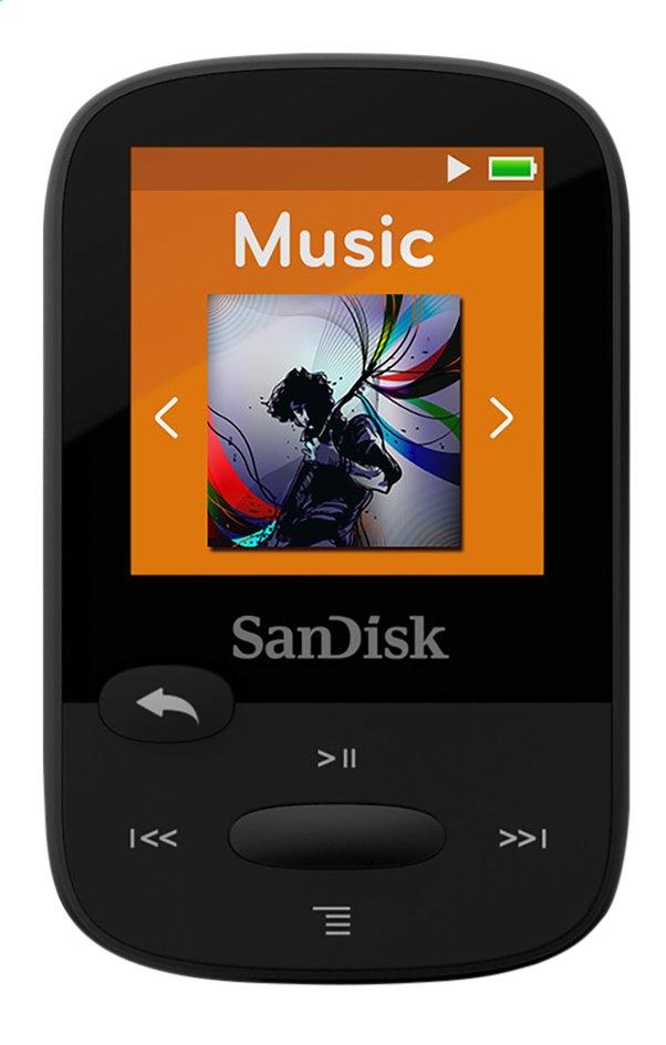Afbeelding van SanDisk mp3-speler Sansa Clip Sport 8 GB zwart from ColliShop