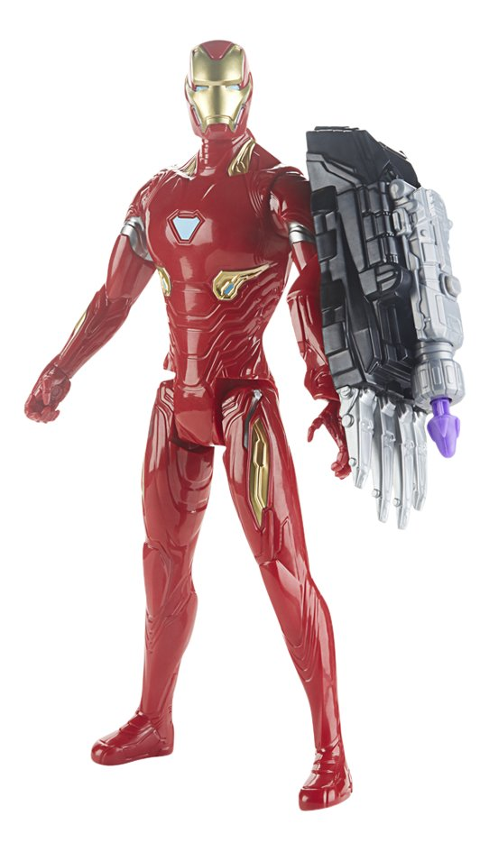 Image pour Hasbro figurine articulée Avengers Titan Hero Series - Iron Man à partir de ColliShop