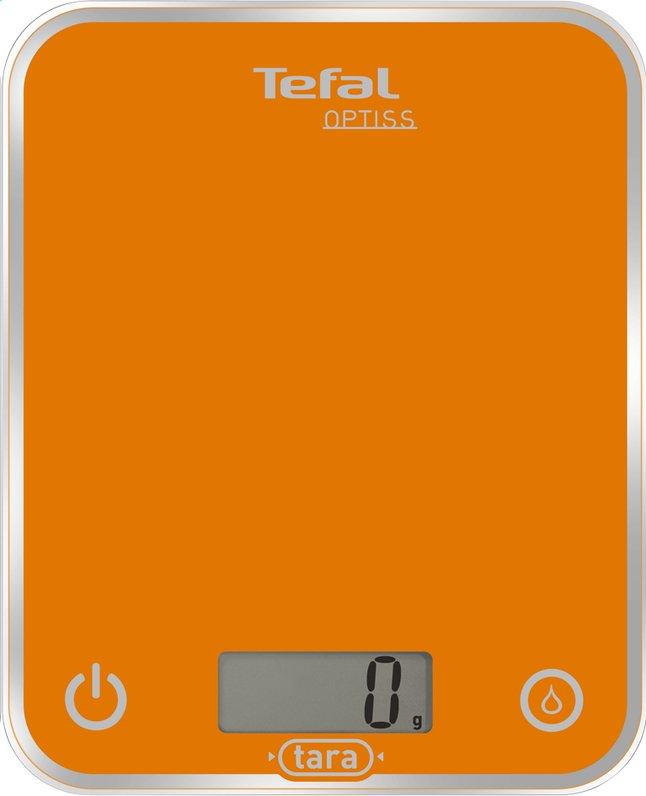 Image pour Tefal balance de cuisine numérique Optiss orange à partir de ColliShop