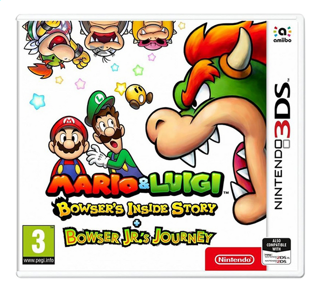 Afbeelding van 3DS Mario & Luigi Bowser's Inside Story + Bowser Jr.'s journey ENG from ColliShop