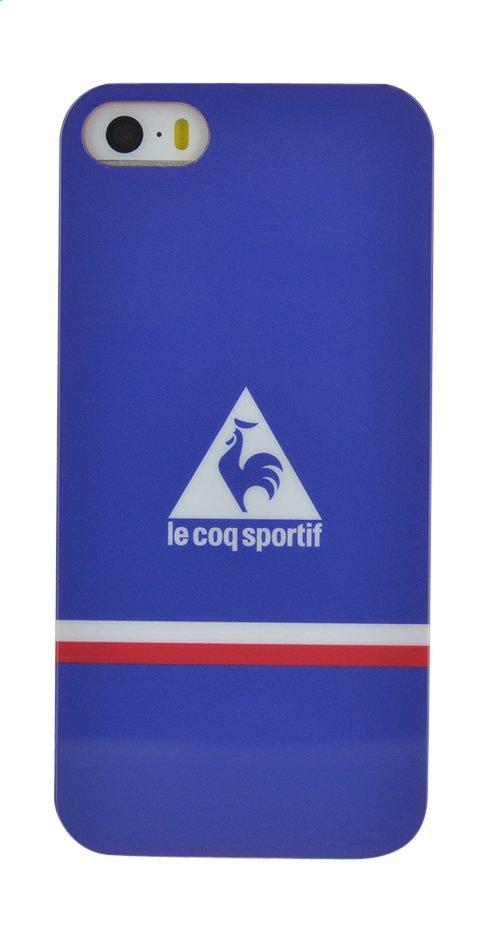 Afbeelding van bigben cover Le coq sportif voor iPhone SE/5/5s blauw from ColliShop