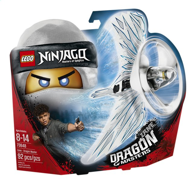Afbeelding van LEGO Ninjago 70648 Zane - Drakenmeester from ColliShop