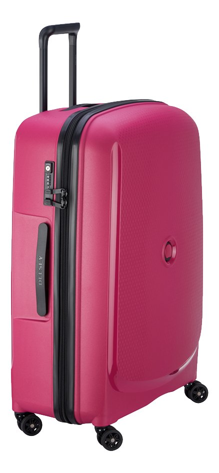 Delsey valise rigide Belmont Plus rose 70,5 cm