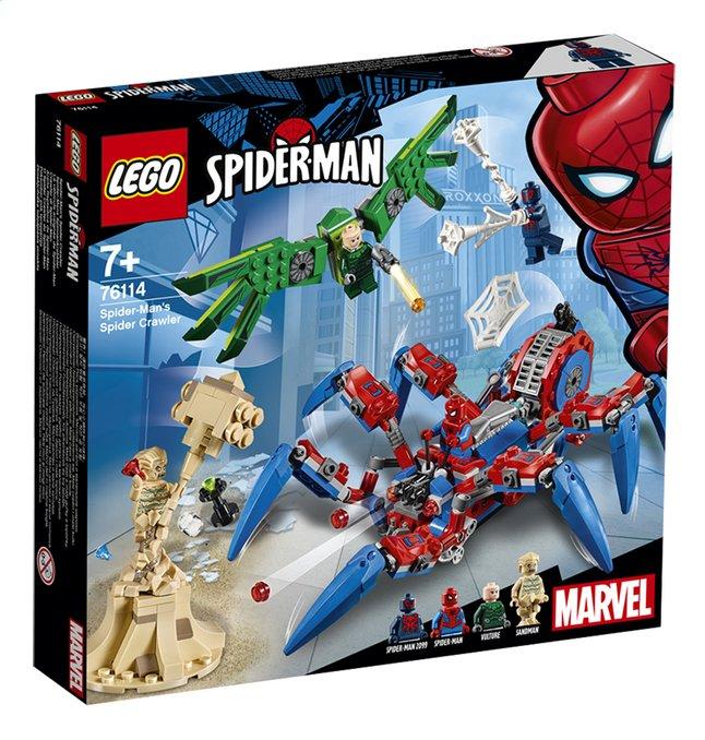 Afbeelding van LEGO Spider-Man 76114 Spider-Man's spidercrawler from ColliShop