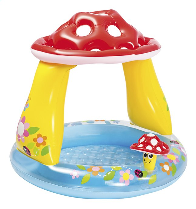 Intex babyzwembad Paddenstoel
