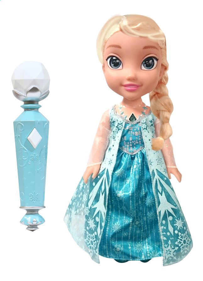 Image pour Poupée Disney La Reine des Neiges My First Toddler Sing a long Elsa avec micro à partir de ColliShop