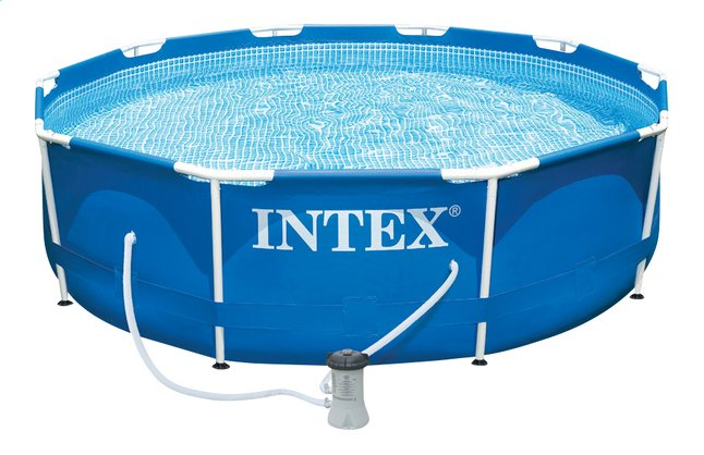 Afbeelding van Intex zwembad Metal Frame Pool diameter 3,05 m from ColliShop