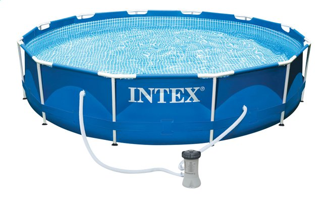 Afbeelding van Intex zwembad Metal Frame Pool diameter 3,66 m from ColliShop