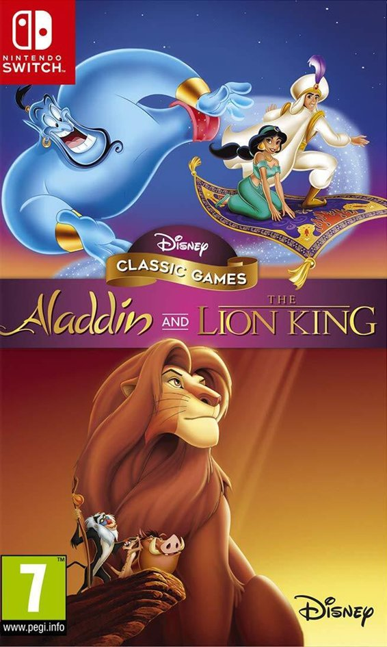 Nintendo Switch Disney Classic Games Aladdin and The Lion King FR/ANG