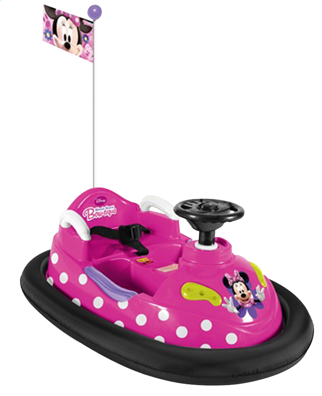 Afbeelding van Elektrische botsauto Minnie Mouse Bow-tique from ColliShop