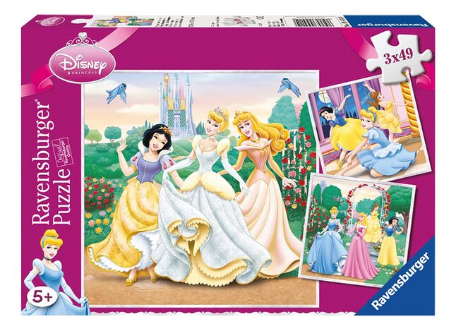 Afbeelding van Ravensburger puzzel 3-in-1 Prinsessendromen from ColliShop