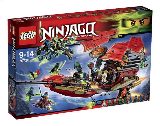 Image pour LEGO Ninjago 70738 L'ultime QG des ninjas à partir de ColliShop