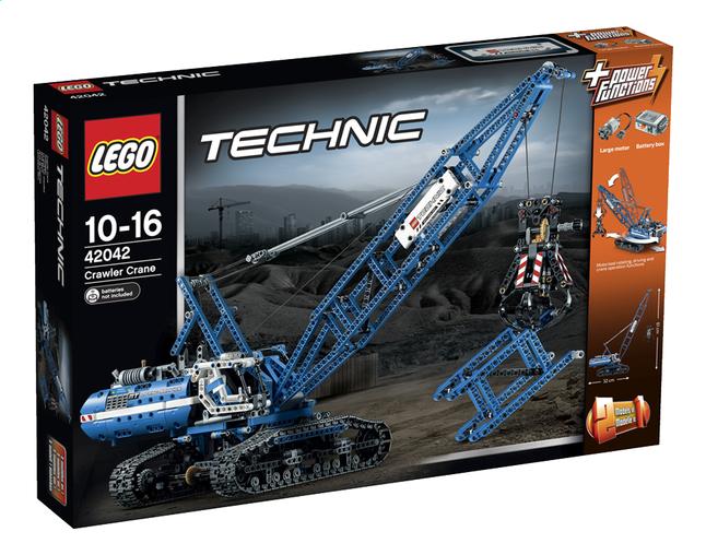 Afbeelding van LEGO Technic 42042 Rupsbandkraan from ColliShop