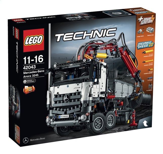 Afbeelding van LEGO Technic 42043 Mercedes-Benz Arocs 3245 from ColliShop