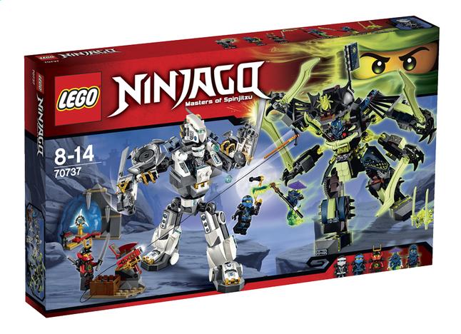 Afbeelding van LEGO Ninjago 70737 Duel Titan Mech en Mech-enstein from ColliShop