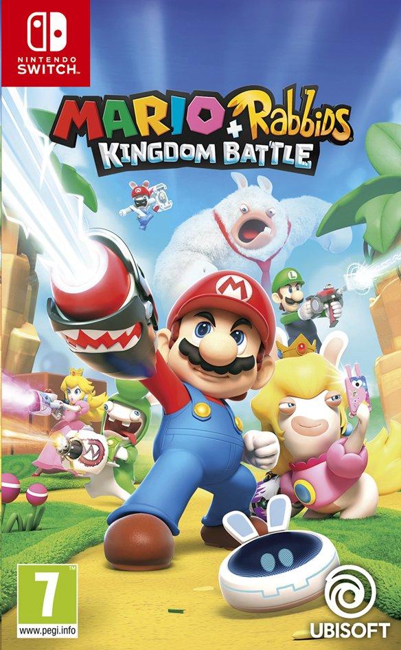 Image pour Nintendo Switch Mario + The Lapins Crétins Kingdom Battle FR/ANG à partir de ColliShop