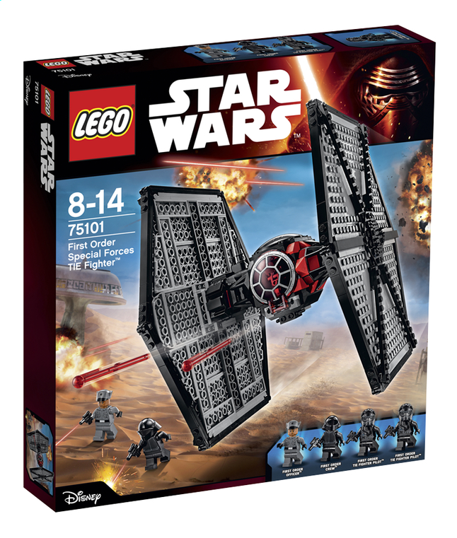 Afbeelding van LEGO Star Wars 75101 First Order Special Forces TIE fighter from ColliShop