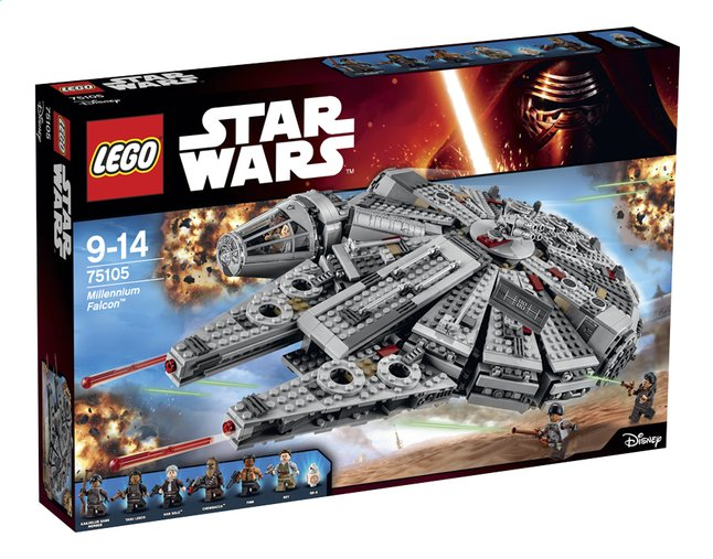 Afbeelding van LEGO Star Wars 75105 Millennium Falcon from ColliShop