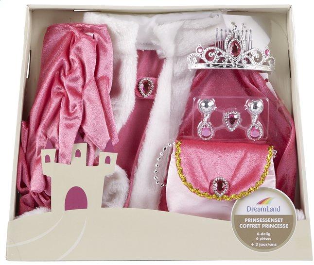 Afbeelding van DreamLand verkleedpak prinsessenset 6-delig roze from ColliShop