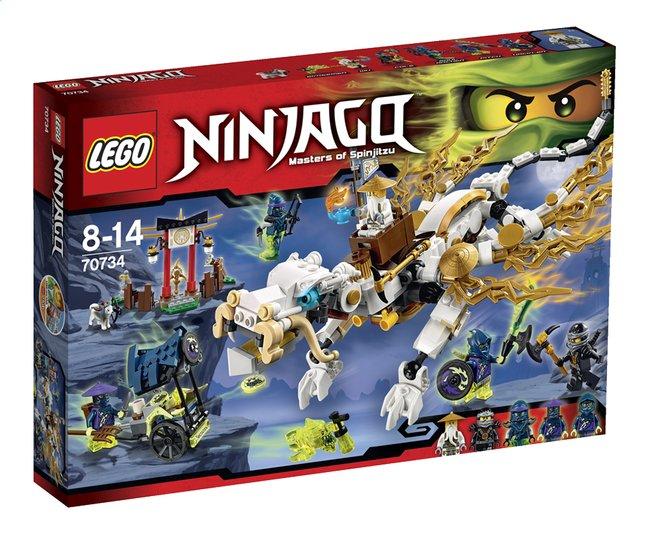 Image pour LEGO Ninjago 70734 Le dragon de Maître Wu à partir de ColliShop