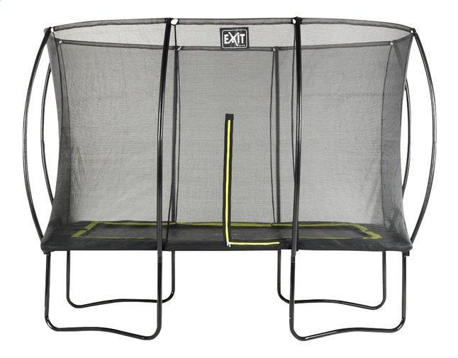 Afbeelding van EXIT trampolineset Silhouette zwart L 3,66 x B 2,44 m from ColliShop