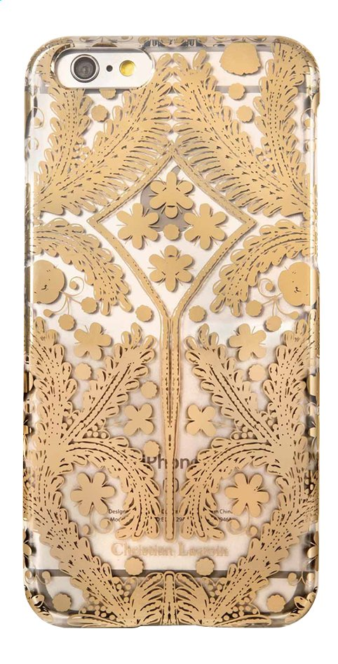 Afbeelding van bigben cover Christian Lacroix Paseo 3D iPhone 6, 6s goud from ColliShop