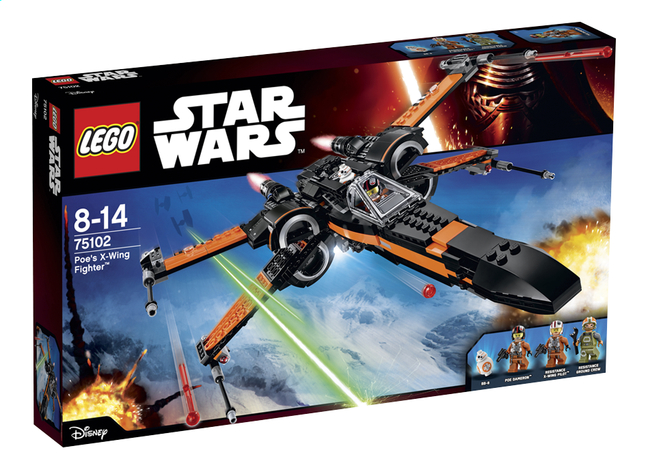Afbeelding van LEGO Star Wars 75102 Poe's X-Wing Fighter from ColliShop