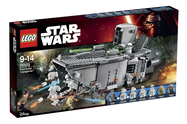 Afbeelding van LEGO Star Wars 75103 First Order Transporter from ColliShop