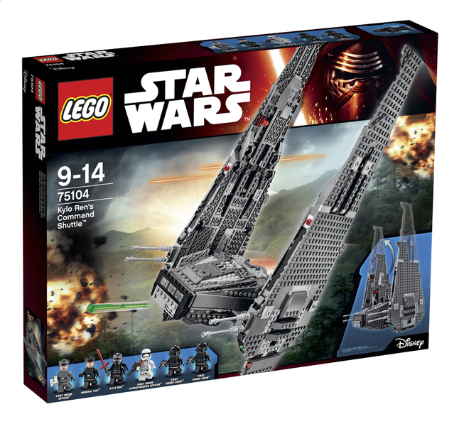 Afbeelding van LEGO Star Wars 75104 Kylo Ren's Command Shuttle from ColliShop